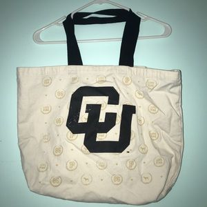colorado university tote